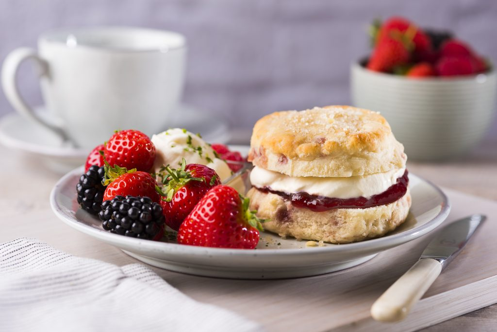 Raspberry And White Chocolate Scones Neills Flour